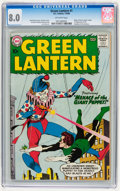 Silver Age (1956-1969):Superhero, Green Lantern #1 (DC, 1960) CGC VF 8.0 Off-white pages....
