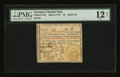 Colonial Notes:Georgia, Georgia June 8, 1777 $5 PMG Fine 12 Net....
