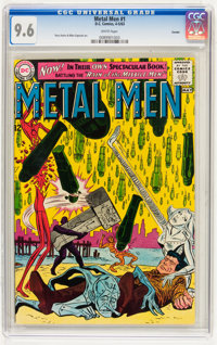 Metal Men #1 Curator pedigree (DC, 1963) CGC NM+ 9.6 White pages