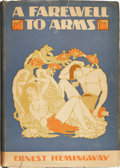 Books:First Editions, Ernest Hemingway. A Farewell to Arms. New York:Charles Scribner's Sons, 1929.. First edition, first issue, wi...