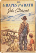 "Books:First Editions, John Steinbeck. The Grapes of Wrath. New York: The VikingPress, [1939].. First edition, with ""First published in ..."