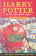 Books:Signed Editions, J. K. Rowling. Harry Potter and the Philosopher's Stone.[London]: Bloomsbury, [1997].. First edition, first p...