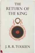 Books:First Editions, J. R. R. Tolkien. The Return of the King. Being the Third Partof the Lord of the Rings. London: George Allen & ...