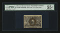 Fractional Currency:Second Issue, Fr. 1290 25¢ Second Issue PMG About Uncirculated 55 EPQ....