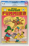 Golden Age (1938-1955):Western, Star Ranger Funnies V1#15 Mile High pedigree (Centaur, 1938) CGCNM/MT 9.8 White pages....