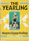 Books:First Editions, Marjorie Kinnan Rawlings. The Yearling. New York: CharlesScribner's Sons, 1958. First edition, first issue. Pub...