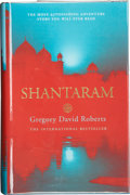 Books:Signed Editions, Gregory David Roberts. Shantaram. [London]: Little, Brown,[2004]. First British edition. Signed by Roberts and ...