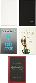 Books:Signed Editions, V. S. Naipaul. Five Signed First Editions, including: In a FreeState. [and:] A Way in the World. Advance re... (Total:5 Items)