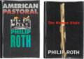 Books:Signed Editions, Philip Roth. Two Signed First Editions, including: AmericanPastoral. Boston/New York: Houghton Mifflin, 1997. [and:...(Total: 2 Items)