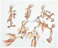Animation Art:Production Drawing, Virgil Ross Wile E. Coyote Drawing Original Art (WarnerBros., undated)....