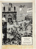 Original Comic Art:Miscellaneous, Fred Ray The Story of the Alamo: An Illustrated History of theSiege and Fall of The Alamo pages 28 and 29 Product...