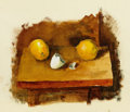 Fine Art - Painting, American:Contemporary   (1950 to present)  , PROPERTY OF MRS. RUTH CARTER-STEVENSON. WILLIAM (BILL) LLEWELLYNHOEY (American, 1930-1994). Sketch for Lemons and E...