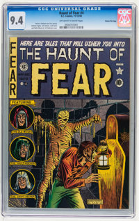 Haunt of Fear #4 Gaines File pedigree 9/9 (EC, 1950) CGC NM 9.4 Off-white to white pages