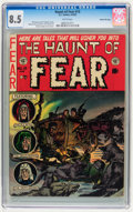 Golden Age (1938-1955):Horror, Haunt of Fear #13 Gaines File pedigree 8/12 (EC, 1952) CGC VF+ 8.5White pages....