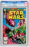 Modern Age (1980-Present):Science Fiction, Star Wars #59 (Marvel, 1982) CGC MT 9.9 White pages....
