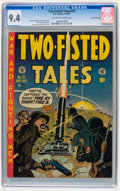 Golden Age (1938-1955):War, Two-Fisted Tales #29 Gaines File pedigree 4/11 (EC, 1952) CGC NM9.4 Off-white to white pages....