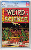 Golden Age (1938-1955):Science Fiction, Weird Science #6 Gaines File pedigree 5/10 (EC, 1951) CGC NM 9.4 White pages....