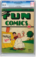 Platinum Age (1897-1937):Miscellaneous, More Fun Comics #24 (DC, 1937) CGC VG+ 4.5 Light tan to off-whitepages....