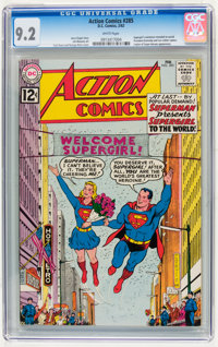 Action Comics #285 (DC, 1962) CGC NM- 9.2 White pages