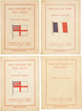 Books:First Editions, Rudyard Kipling. Four War-Time Pamphlets from 1915, including:The New Army in Training. [and:] France at Wa...