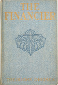 Books:First Editions, Theodore Dreiser. The Financier. New York: Harper &Brothers, 1912. First edition. Publisher's mottled blue clot...