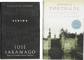Books:Signed Editions, Jose Saramago. Two Signed First Editions, including: Seeing.[and:] Journey to Portugal. Both copies inscr... (Total: 2Items)