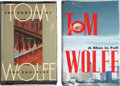 Books:Signed Editions, Tom Wolfe. Two Signed First Editions, including: The Bonfire of the Vanities. [1987]. [and:] A Man in Full. ... (Total: 2 Items)