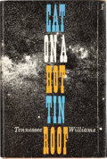 Books:First Editions, Tennessee Williams. Cat on a Hot Tin Roof. [New York]: NewDirections, [1955]. First edition, first printing. Fi...