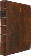 Books:First Editions, W. G. Browne. Travels in Africa, Egypt, and Syria. London:T. Cadell, 1799. First edition. Quarto. Engraved fron...