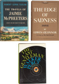 Books:First Editions, Three Modern First Editions, including: Robert Lewis Taylor. TheTravels of Jaimie McPheeters. [and:] Edwin O'... (Total: 3Items)