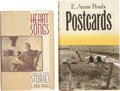 Books:Signed Editions, E. Annie Proulx. Two Signed First Editions, including: HeartSongs. New York: Charles Scribner's Sons, [1988]. [and:...(Total: 2 Items)