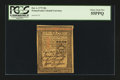 Colonial Notes:Pennsylvania, Pennsylvania October 1, 1773 20s PCGS Choice About New 55PPQ....