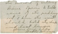 Baseball Collectibles:Others, Walter Johnson Handwritten, Signed Note....
