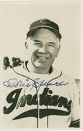 Baseball Collectibles:Photos, Tris Speaker Signed Vintage Photograph Postcard....