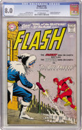 Silver Age (1956-1969):Superhero, The Flash #114 (DC, 1960) CGC VF 8.0 Cream to off-white pages....