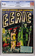 Golden Age (1938-1955):Horror, Eerie #2 Bethlehem pedigree (Avon, 1951) CGC VF/NM 9.0 Cream tooff-white pages....