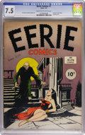 Golden Age (1938-1955):Horror, Eerie #1 (Avon, 1947) CGC VF- 7.5 Cream to off-white pages....
