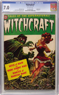 Golden Age (1938-1955):Horror, Witchcraft #5 (Avon, 1953) CGC FN/VF 7.0 Off-white pages....