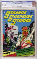 Golden Age (1938-1955):Horror, Strange Suspense Stories #2 Crowley Copy pedigree (Fawcett, 1952)CGC NM 9.4 Off-white pages. Here's a pristine copy of a pr...