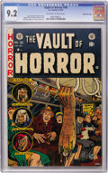 Golden Age (1938-1955):Horror, Vault of Horror #30 Gaines File pedigree (EC, 1953) CGC NM- 9.2Off-white to white pages....
