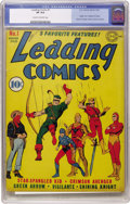 Golden Age (1938-1955):Superhero, Leading Comics #1 (DC, 1941) CGC VF 8.0 Cream to off-white pages....