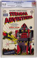 Golden Age (1938-1955):Science Fiction, Strange Adventures #3 (DC, 1950) CGC VF/NM 9.0 Off-white to whitepages....