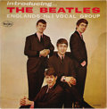 """Music Memorabilia:Recordings, """"Introducing The Beatles"""" Mono LP (Vee-Jay 1062, 1963) Here is a1963 mono copy of the above LP with color band bracket labe...(Total: 1 Item)"""