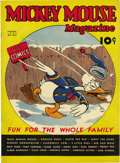 Platinum Age (1897-1937):Miscellaneous, Mickey Mouse Magazine V2#5 (K. K. Publications, Inc., 1937)Condition: VF/NM....