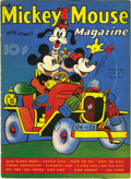 Platinum Age (1897-1937):Miscellaneous, Mickey Mouse Magazine V2#11 (K. K. Publications, Inc., 1937)Condition: FN....