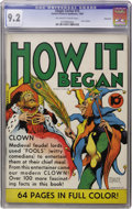 Golden Age (1938-1955):Non-Fiction, Single Series #15 How It Began - Vancouver pedigree (United Features Syndicate, 1939) CGC NM- 9.2 Off-white to white pages....
