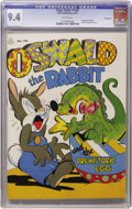 Golden Age (1938-1955):Funny Animal, Four Color #143 Oswald the Rabbit - Vancouver pedigree (Dell, 1947)CGC NM 9.4 White pages....