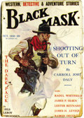 Pulps:Miscellaneous, Black Mask Group (Fictioneers Inc., 1928-31) Condition: Average GD+.... (Total: 5 Comic Books)