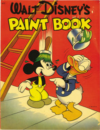 Walt Disney's Paint Book #677 (Whitman, 1944) Condition: VF-