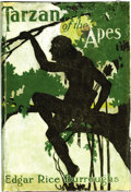 "Books:First Editions, Edgar Rice Burroughs ""Tarzan of the Apes"" First Edition Hardback(McClurg, 1914)...."